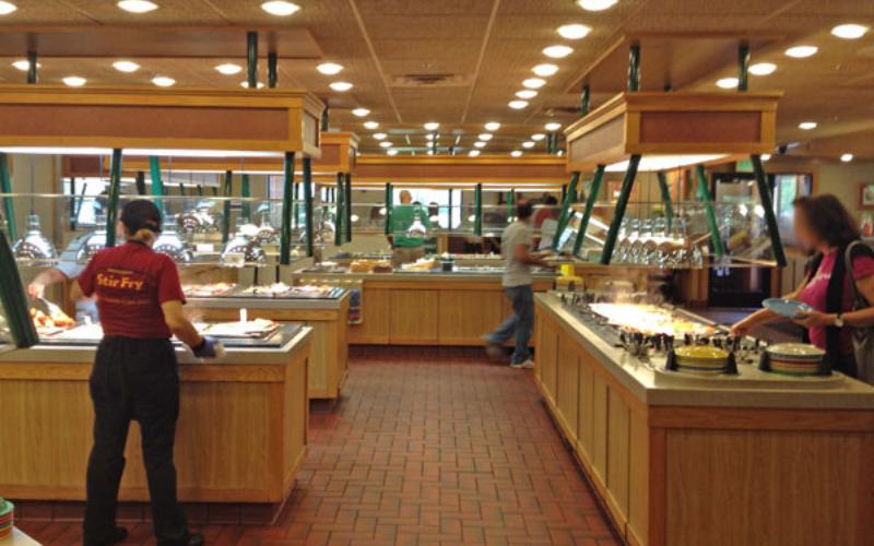the hometown buffet application
