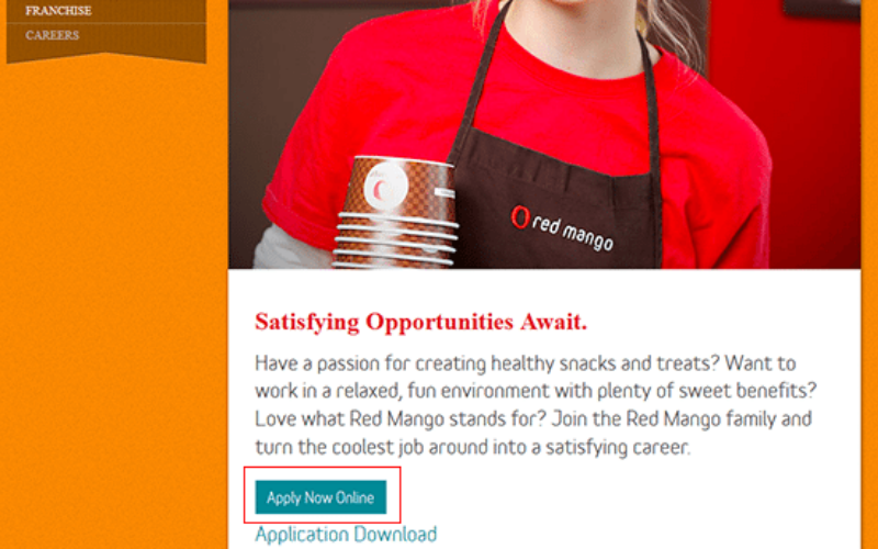 the red mango application tips