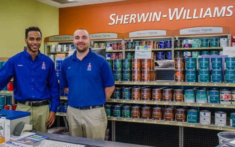 the sherwin williams application