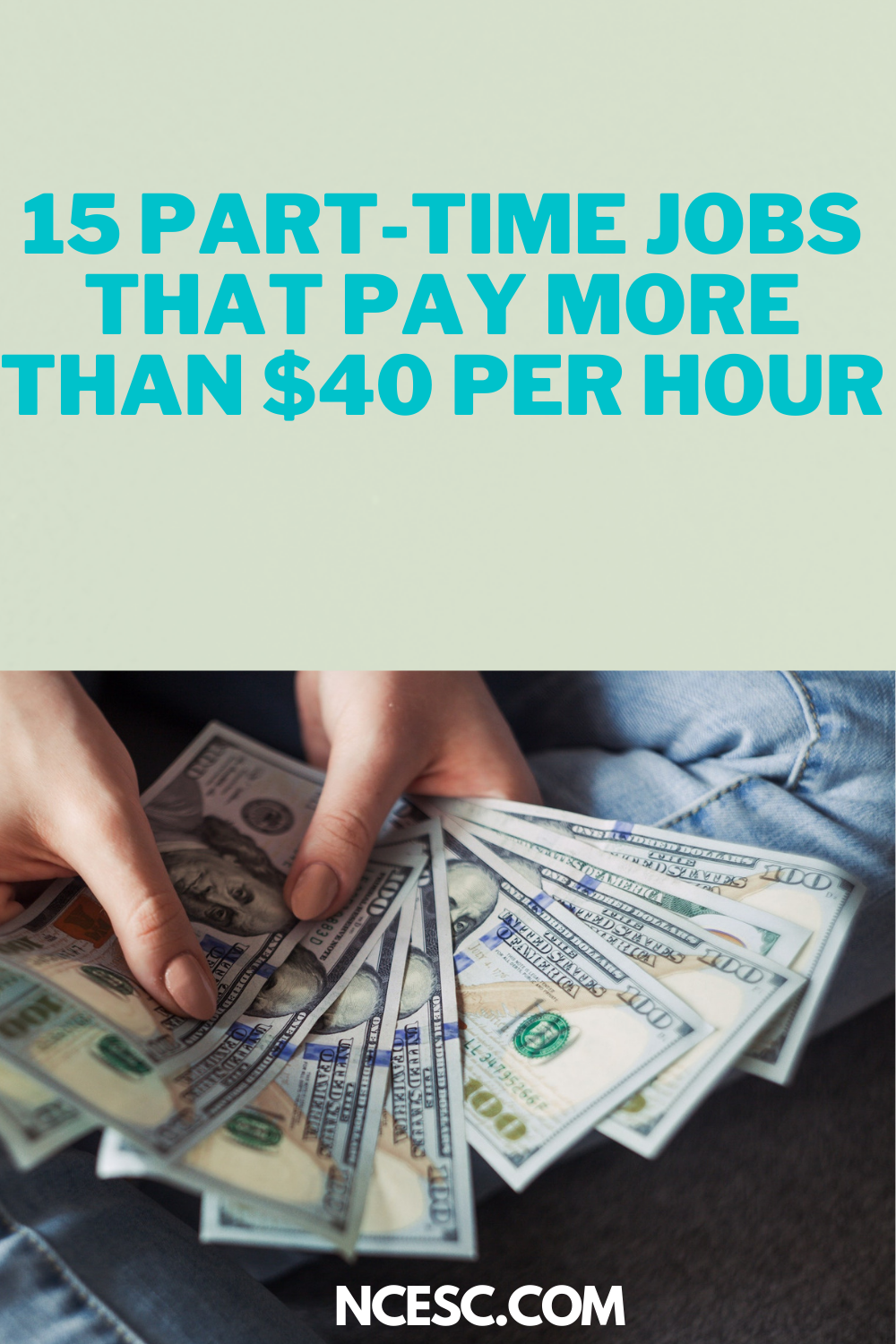 15 part time jobs that pay more than 40 per hour