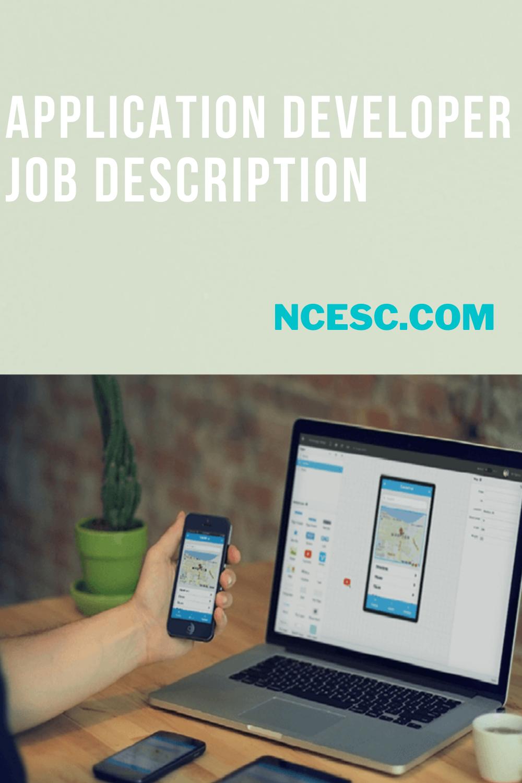 application developer job description