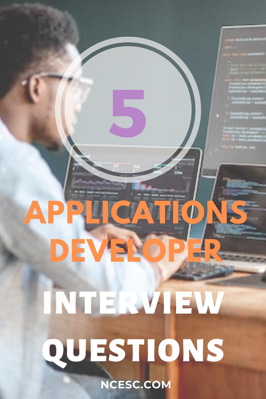 applications developer interview questions