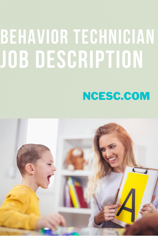 behavior technician job description