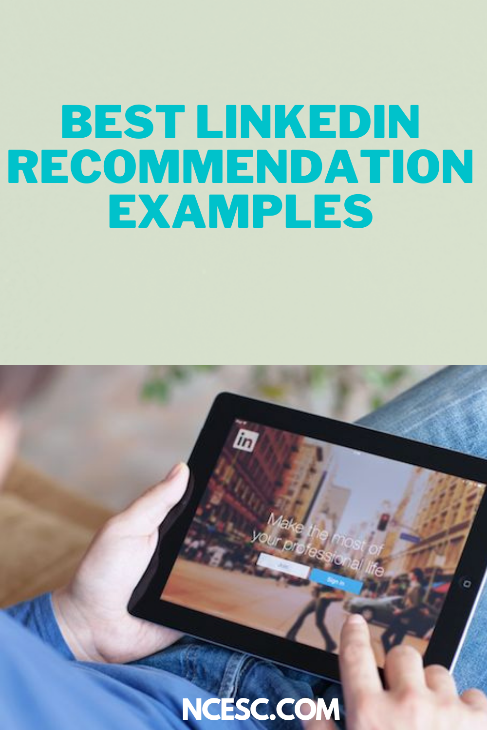 best linkedin recommendation examples