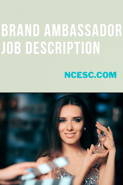 brand ambassador job description