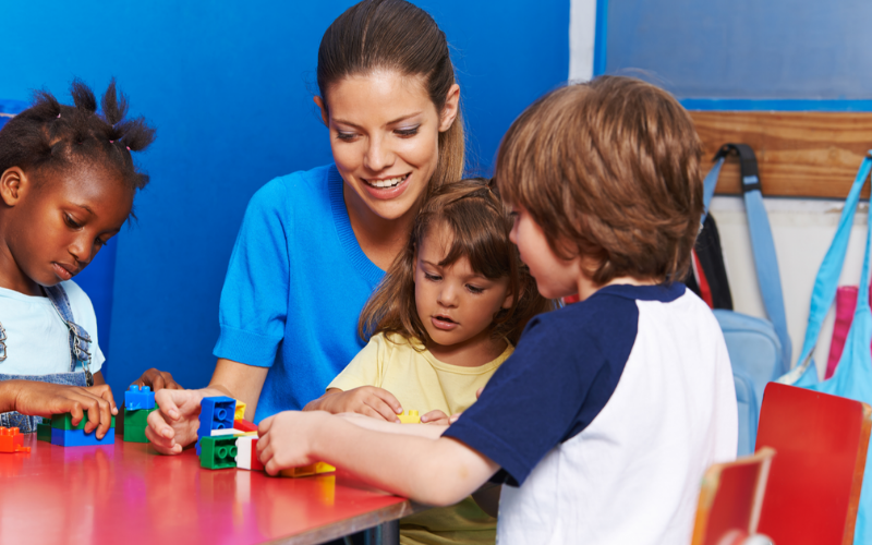 child care provider job description