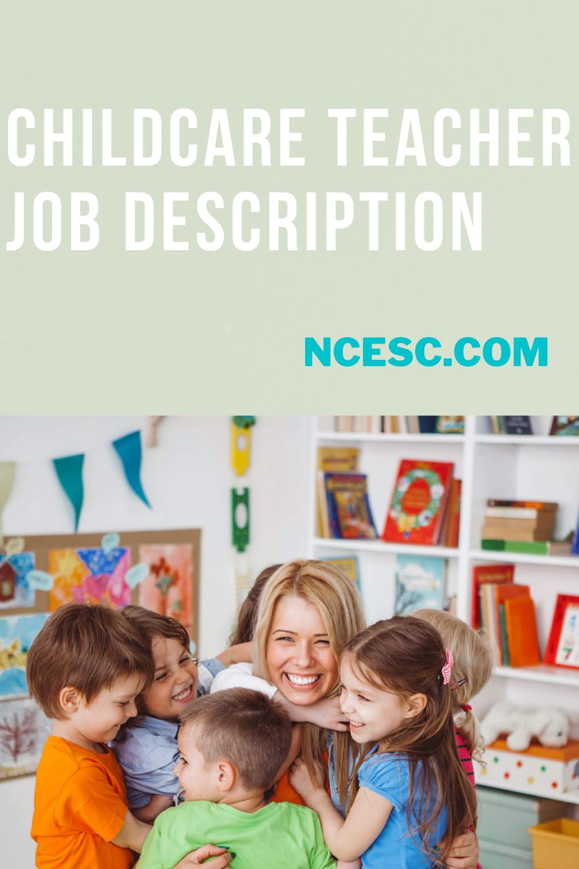 child care teacher job description