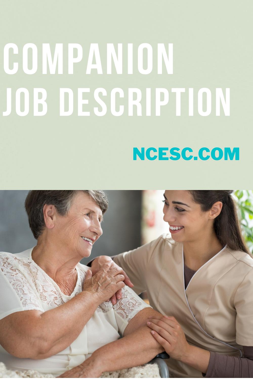 companion job description