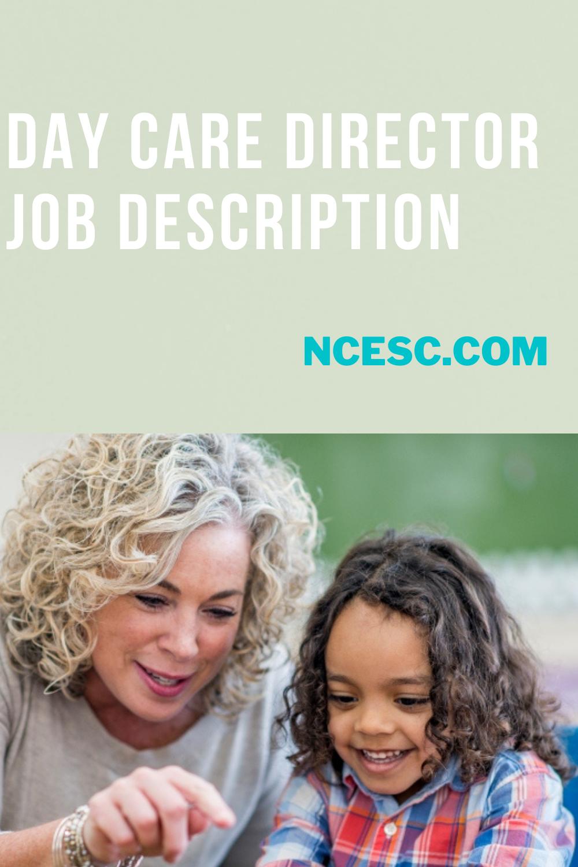 day care director job description