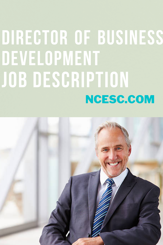 director of business development job description