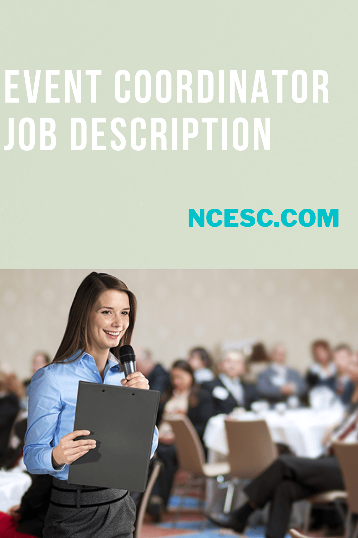event coordinator job description