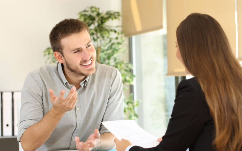 how to answer how do you handle conflict