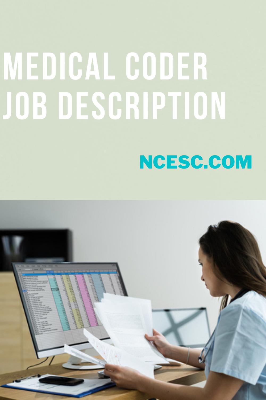 medical coder job description