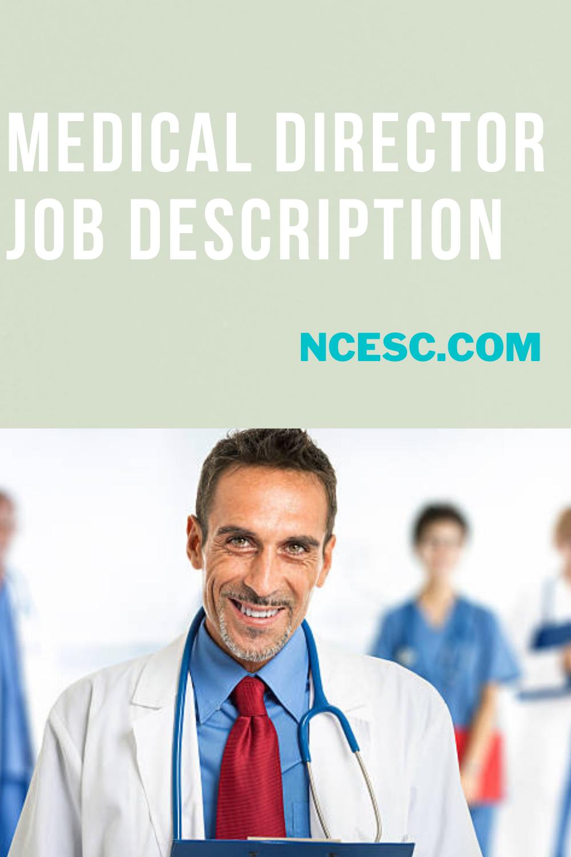 medical director job description