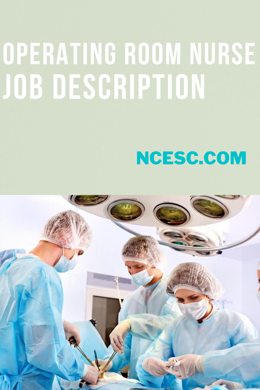 operating room nurse job