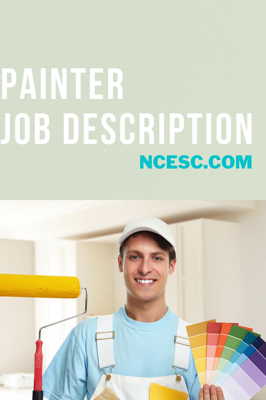 painter job description