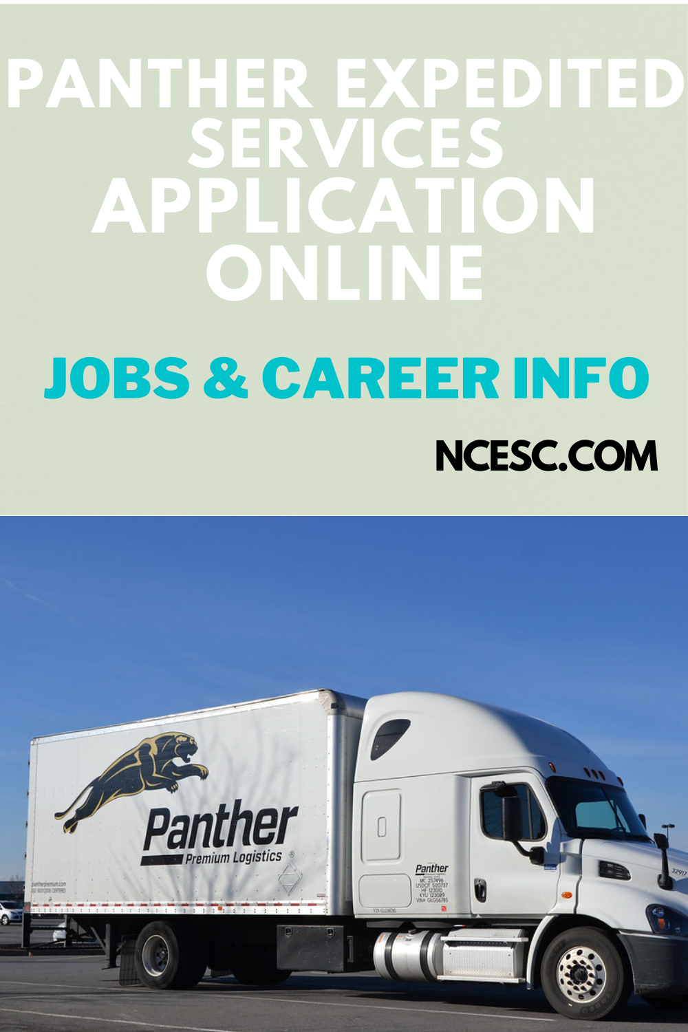 panther expedited services application