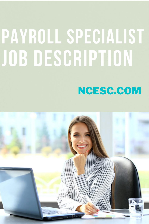 payroll specialist job