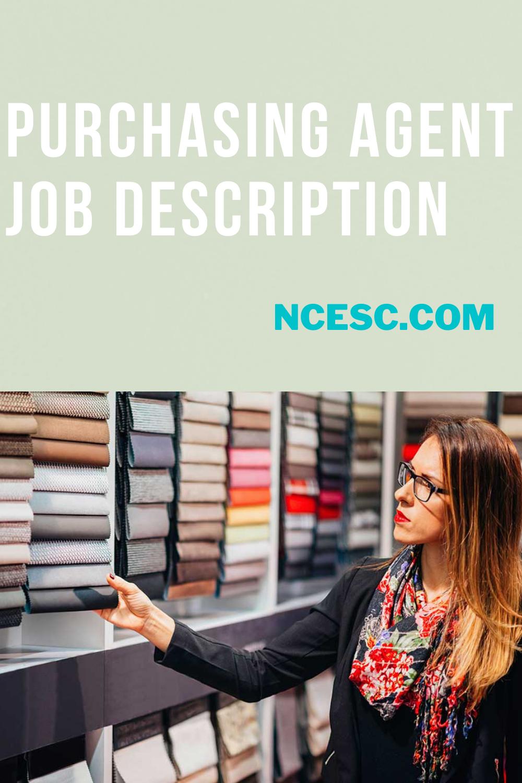 purchasing agent job description