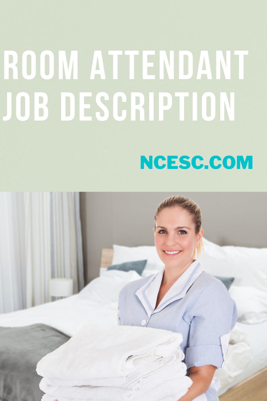 room attendant job description