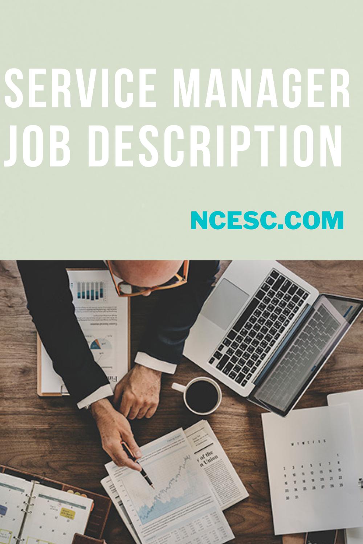 service manager job description