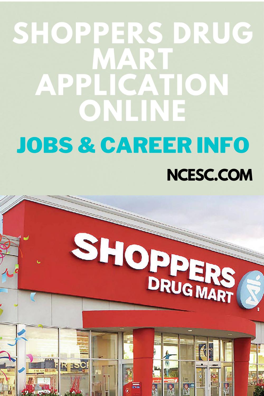 shoppers drug mart application