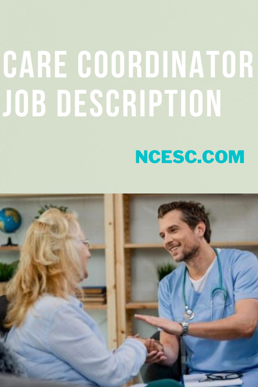 the care coordinator job description