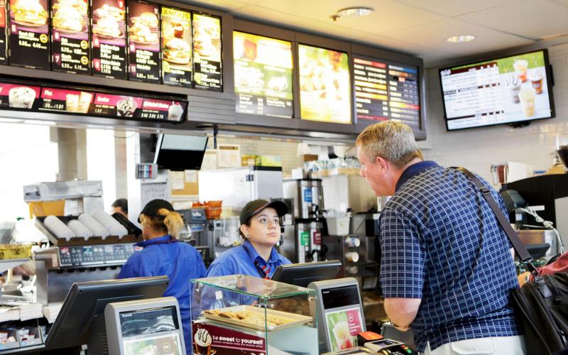 the fast food cashier job description