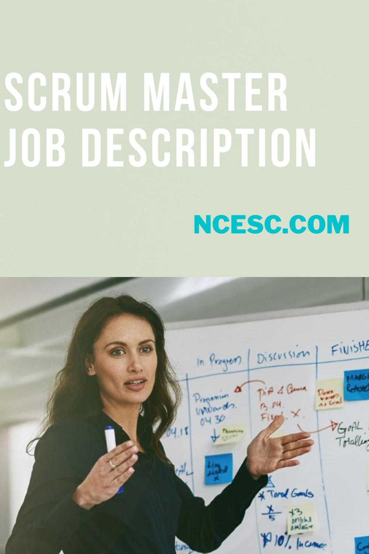 the scrum master job description