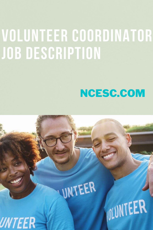 volunteer coordinator job description