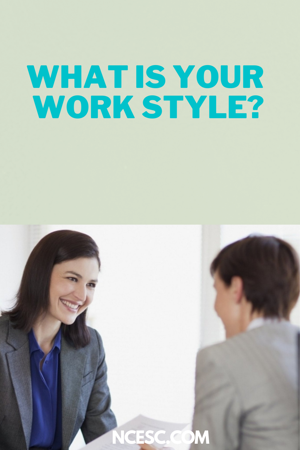 what is your work style anser