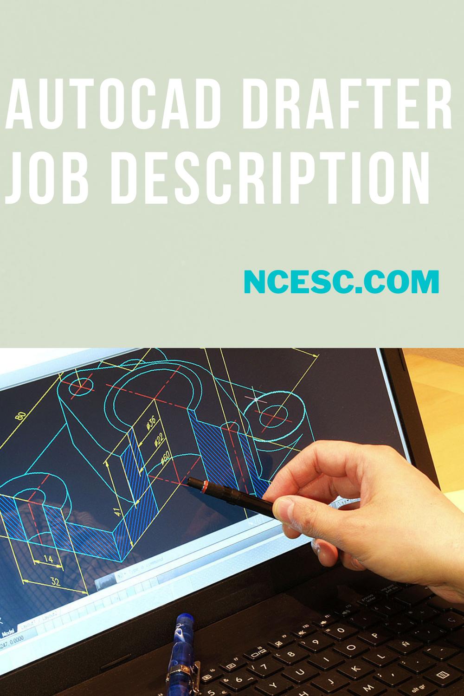 autocad drafter job description