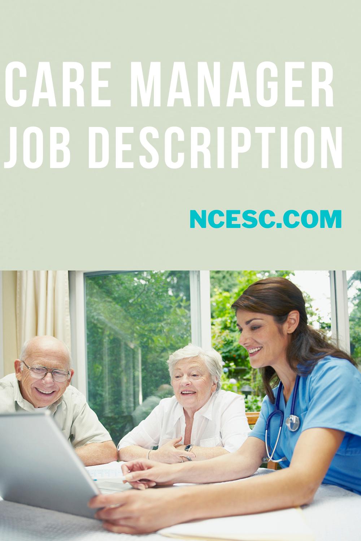 care manager job description