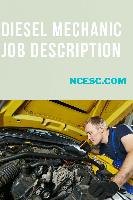 diesel mechanic job description