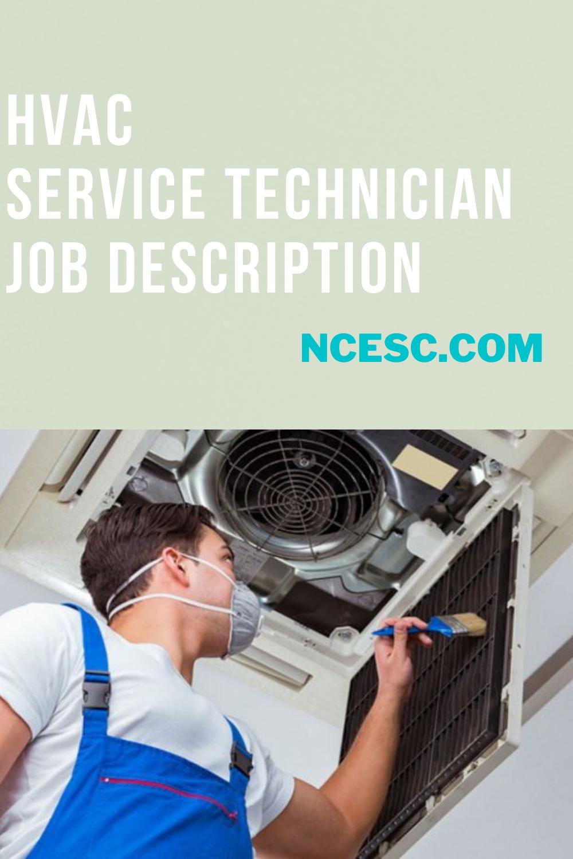 hvac service technician job description