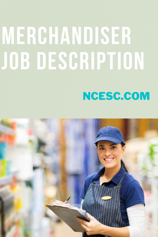 merchandiser job description