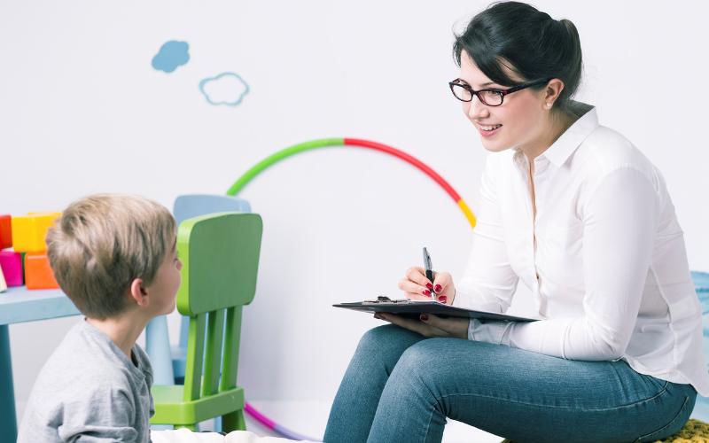 the child psychiatrist job description