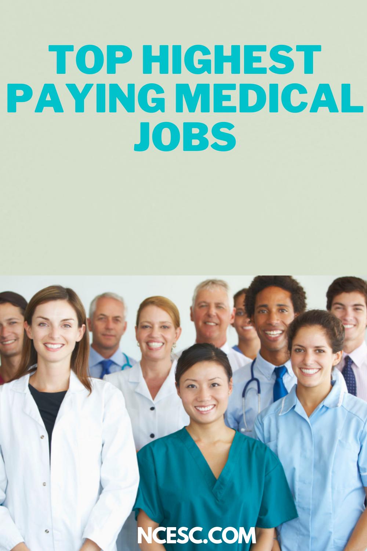 top highest paying medical job