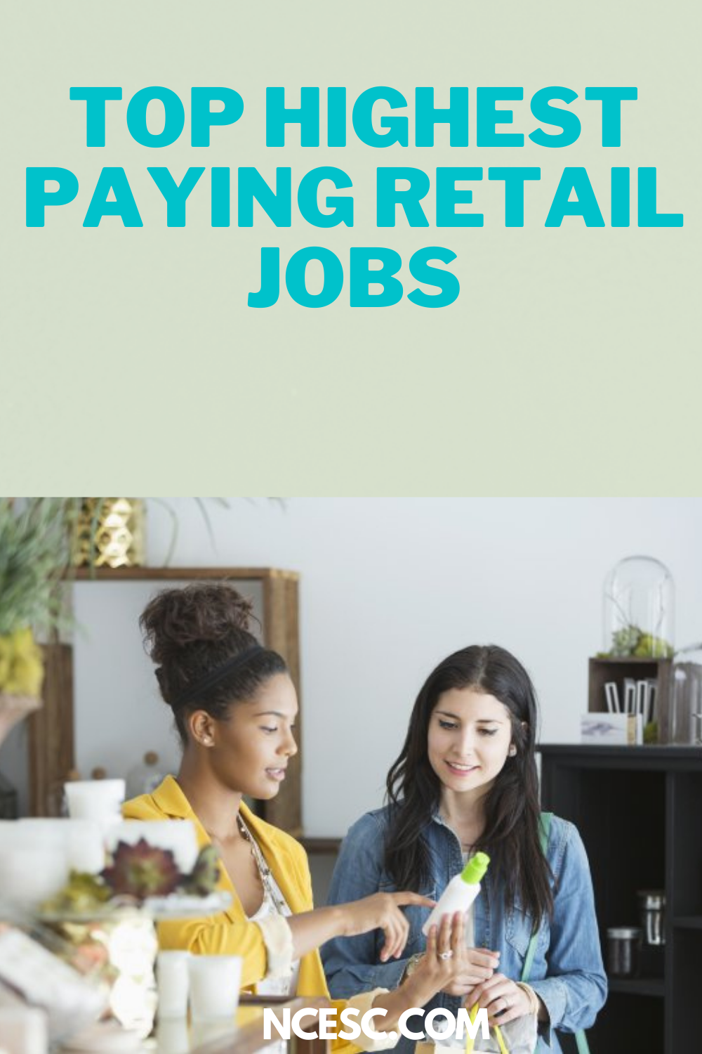 top highest paying retail jobs