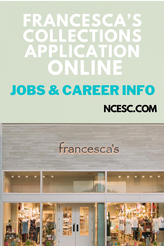 francescas collections application
