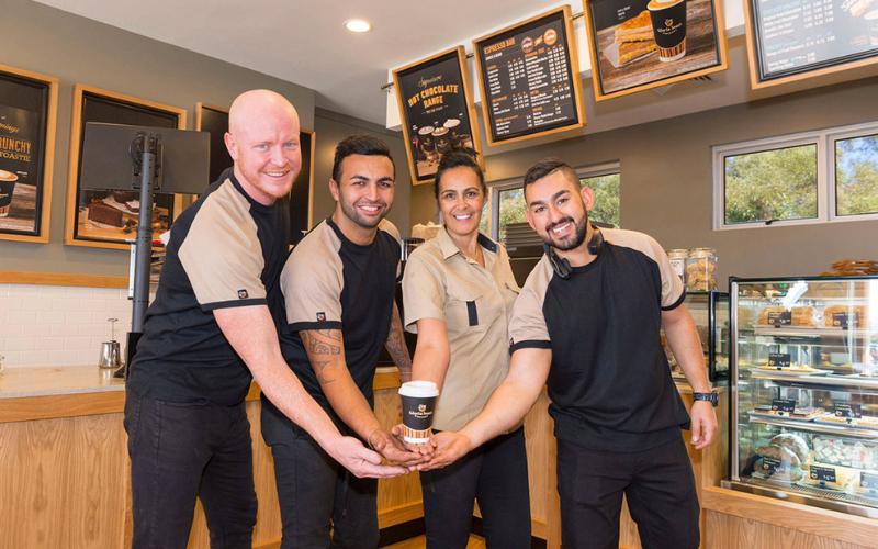 gloria jean's coffees application guide