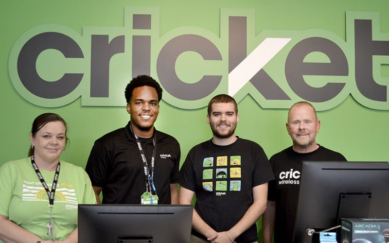 the cricket wireless application