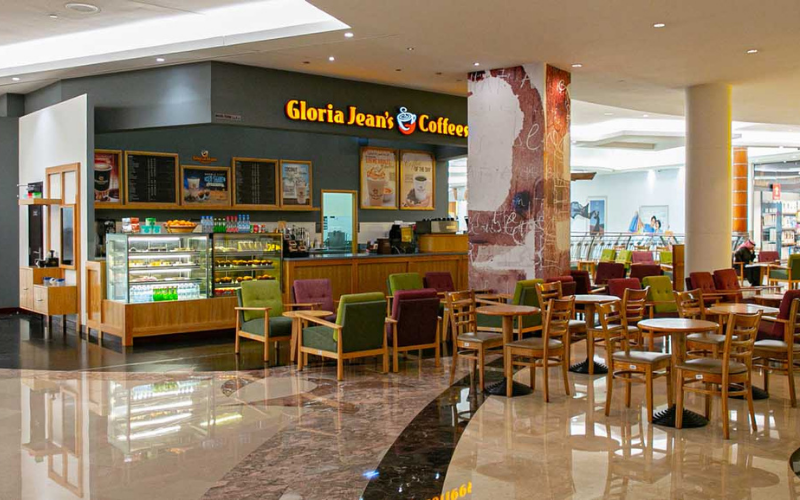 the gloria jean's coffees application