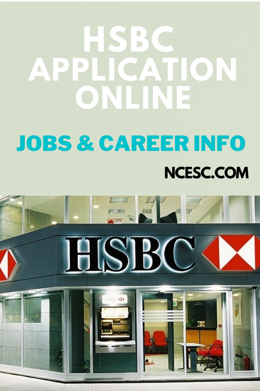 hsbc application jobs